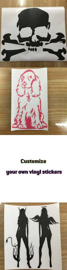 Customize your own vinyl stickers car styling Vinyl car decals Motorcycle Reflective Stickers car covers