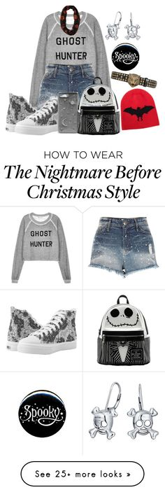"""Spooky"" by lah-2-queen on Polyvore featuring Wildfox, River Island, Gucci, CHARLES & KEITH and Bling Jewelry"