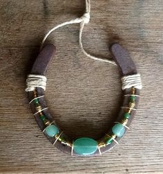 Hey, I found this really awesome Etsy listing at https://www.etsy.com/listing/125831384/beaded-up-cycled-horseshoe