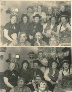 1955 Halloween before & after photos. Very cool!