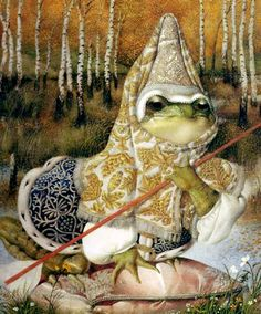 The Frog Princess illustrated by Gennady Spirin
