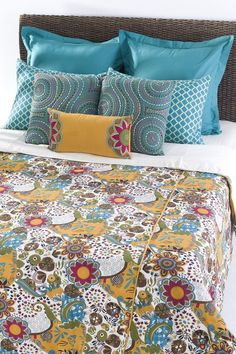 Carmen Top of the Bed Duvet Sets with Insert by Rizzy Home