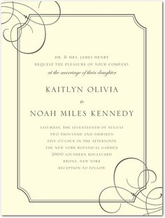 Deco Lines - Thermography Wedding Invitations - simplyput by Ashley Woodman - TH Gold - Neutral : Front