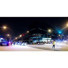 "When we crossing the street I asked the EPSON officer doing the traffic control if it was like cat wrangling. ""Worse"" was his answer. #allisbright #winterfestival #Yeg #urbanyeg #yegdt #myphotocrowd #edmontonliving #lifeincanada #unlimitedcanada #ig_color #ig_myshot #viewbugfeature #adorablecanada #peerlesspixel #exploreedmonton #IGyeg #ig_captures"