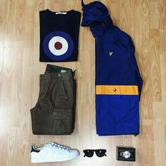 Away Days - Lyle&Scott, Ben Sherman and Stan Smiths
