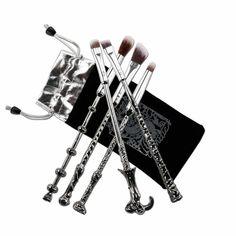 5pcs cosmetic makeup brush brushes magic harry potter collection gift   eBay f9fc9c8d4da6