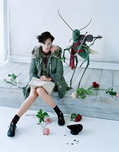 Uniqlo lookbook by Tim Walker