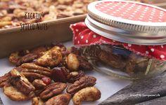 Kickin' Spiced Nuts/{I Love} My Disorganized Life #spiced #nuts
