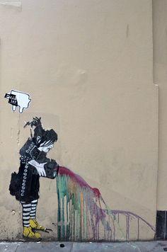Street Art, Degraves St, Melbourne
