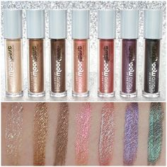 Urban Decay Liquid Moondust Eyeshadow - www. Neutral Makeup, Purple Makeup, Green Makeup, Colorful Makeup, Pretty Makeup, Liquid Eyeshadow, Cream Eyeshadow, Eyeshadows, Beauty Skin