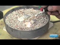 Fusing Silver and Reticulation on Copper | Jewelry Tips with Nancy - YouTube