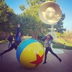 Our very own president Daniela  has enjoyed visiting Pixar Studios through her internship at Allied - this too could be you this Summer! Make sure to visit our Information Session with Allied Integrated Marketing today at 6:30 PM at 20 Barrows to learn more about summer internships! by calbcec