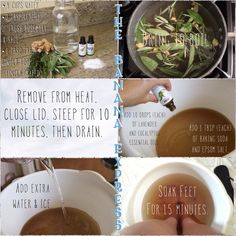 Fragrant foot soak helps get rid of sweatiness and leaves feet smelling fresh! The rosemary and ginger root also help with blood circulation. Ginger Benefits, Health Routine, Foot Soak, Doterra, Baking Soda, Healthy Living, Blood, Essential Oils