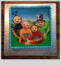 Teletubbie Edible Picture Cake