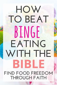 Do you ever wonder how the Bible can help you stop binge eating? These truths and tips from the scriptures will give you the inspiration, power, and motivation to live a life full of freedom and good health! Stop Overeating, Overeating Disorder, Binge Eating, Bible Verses, Scriptures, Christian Life, Christian Living, How To Better Yourself, Weight Loss Motivation