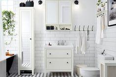 HEMNES bathroom series · HEMNES / ODENSVIK sink cabinet ...