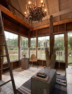 Camp Wandawega; treehouse