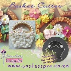 Basket Cookie Cutter  Shop from home and Buy online www.hostesspro.co.za #cakedecorating #hostessprosugarcraft #sugarcraft #cake #cookies #royalicingcookies  http://www.hostesspro.co.za/cutters/1651-basket-with-insert-3-cutter.html?search_query=basket&results=4