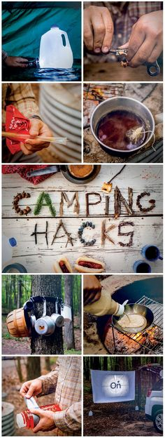 Hacks from an Expert Camping tips and tricks that will change the way you camp forever! See them here (Backcountry Camping Hacks)Camping tips and tricks that will change the way you camp forever! See them here (Backcountry Camping Hacks) Zelt Camping, Camping Glamping, Camping And Hiking, Camping Life, Camping Survival, Camping Meals, Family Camping, Outdoor Camping, Camping Tricks