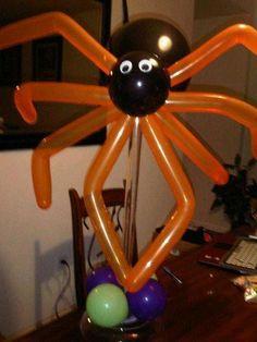 Spooky Spidey by Infante Creations  #burtonandBurton #FrightfullyFun #Balloons…