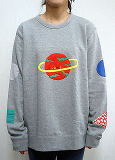 limited edition sweatshirt by misaki kawai, via Flickr