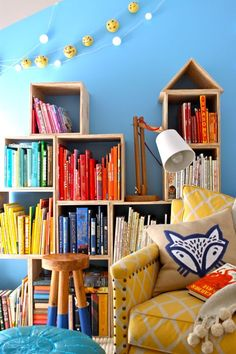 Treehouse: Reading Loft Turn a small, unused space into an inviting Reading Nook Reading Loft, Reading Nook Kids, Casa Kids, Estilo Interior, Kid Spaces, Kids Decor, Girl Room, Child's Room, Kids Bedroom