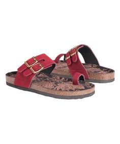 0e4dd9cad922 Update your sunny-day shoe collection with chic comfort with this colorful  pair that features a cushioned footbed.