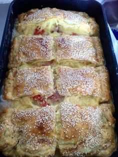 Greek Recipes, New Recipes, Cookbook Recipes, Cooking Recipes, Pizza Tarts, The Kitchen Food Network, Food Network Recipes, Food To Make, Bakery