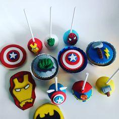 Cakepops, cookies y cupcakes para festejar los 3 añitos de Benicio🥰🥰 Cupcakes, Desserts, Instagram, Food, Tailgate Desserts, Cupcake Cakes, Deserts, Essen, Postres