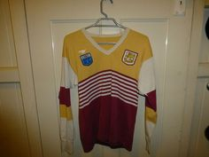 VINTAGE  BRISBANE BRONCOS JERSEY NSWRL NRL RUGBY LEAGUE SUPER LEAGUE Brisbane Broncos, Rugby League, Football, Table, Shopping, Vintage, Ebay, Tops, Fashion