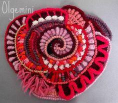 Lovely freeform crochet