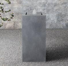 """18"""" x 35.5h - Plinth Fountain"""