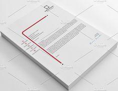 Letterheads by shujaktk on @creativemarket