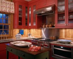 Modern Red Farmhouse Design, Pictures, Remodel, Decor and Ideas - page 5