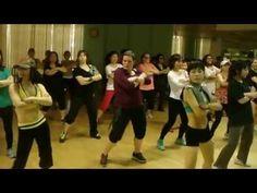 "Zumba Dance (K-Pop song ""Abracadebraca"") Party Demonstration"