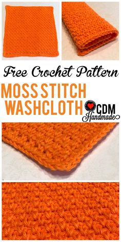 Welcome to post #2 in my Washcloth Series! Did you get a chance to make my first pattern? Check out the Grit Stitch Washcloth! So why a series about washcloths you ask? Well, as I learned to croche…