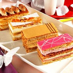 Milles feuilles   YES  ,,,,MULTY   PARFUM  DELICIOUS    Patisserie   FRENCH ,,,,,**+