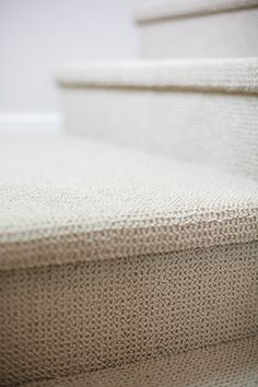 "(Res 4) MAIN HOUSE CARPET - We showcase durable Tuftex City Getaway in color ""Oat Straw"" as main house wall-to-wall carpet and at staircase.#NewHomes #Escondido #LyonContempo"