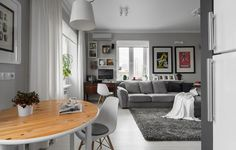 Cool Apartment Design in Moscow Picture