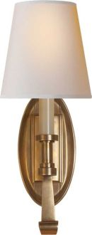 like this one even though picture is not cooperating - Thomas O'Brien 'CALLIOPE' SINGLE SCONCE