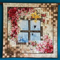27 trendy ideas for traditional quilting patchwork Hand Quilting Patterns, Quilting Projects, Quilting Designs, Quilting Templates, Block Patterns, Quilting Ideas, Small Quilts, Mini Quilts, Watercolor Quilt