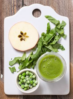 Apple + Spinach + Pea Puree — Baby FoodE | organic baby food recipes to inspire adventurous eating