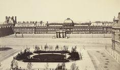 Louis-Auguste Bisson with Auguste Rosalie Bisson. Arc du Carrousel and the Palais des Tuillreies. c. 1855