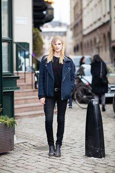 Jacket! Street style.