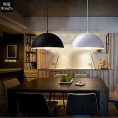 Lampada di alluminio creativo minimalista moderna sala da pranzo lampadario ufficio Hotel hotpot progetto , white: Amazon.it: Illuminazione Hotel, Conference Room, Lighting, Table, Amazon, Furniture, Home Decor, Home, Minimalist