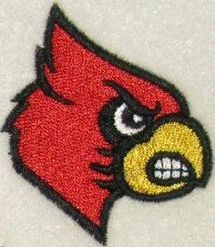 Cardinal Bird Embroidery Design Free | Cardinal Mascot Embroidery Designs | Apex Embroidery Designs, Monogram ...