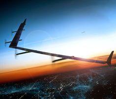 Blog d' informazione curiosità e giornalismo: Facebook Aquila, l'enorme drone che porterà intern...