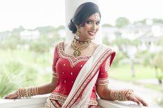 Indian Bridal Portrait Garrett Frandsen Tybee Island Wedding Chapel Savannah