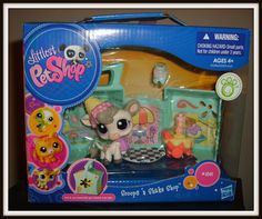 Littlest PetShop - LPS MIB Small Playset: Scoops 'n Shake Shop - Cream Cow for sale online Lps Littlest Pet Shop, Little Pet Shop Toys, Little Pets, Toys For Girls, Kids Toys, Lps For Sale, Lps Dog, Custom Lps, Lps Sets