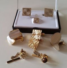 Vintage Cufflinks Job Lot Tie Pin | eBay